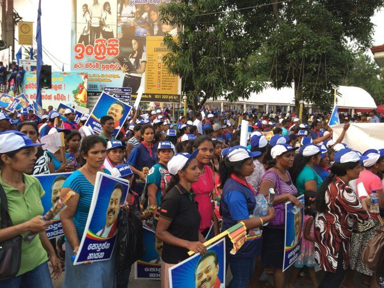 campaign in Lanka
