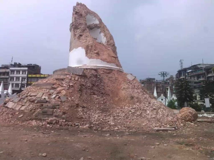 倒塌的達拉哈拉塔(1)