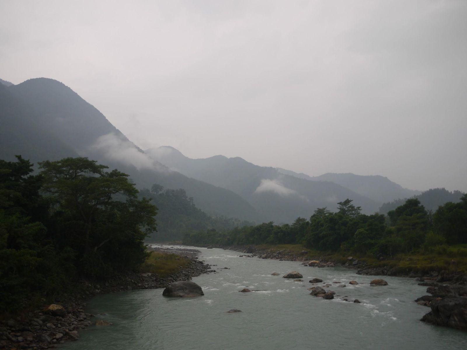 加德滿都到波卡拉路上必經過的河流-Marsyangdi