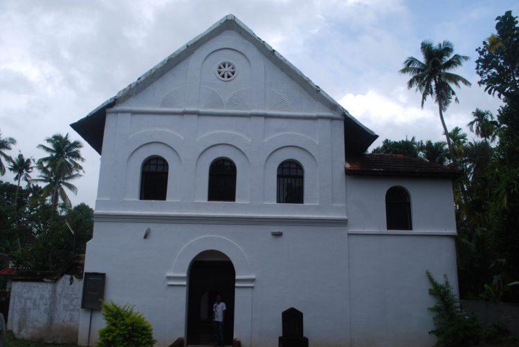 印度僅存 18世紀猶太教會堂在北柯欽的Muziri最早到這的猶太人在 562 BC
