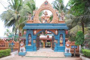 【上圖:印度教寺廟】