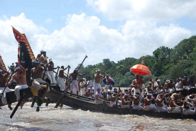 很可能受鄭和影響的喀拉拉蛇舟比賽