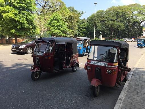 斯里蘭卡的嘟嘟車