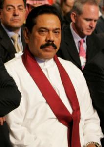 斯里蘭卡總統─拉賈帕克薩(Mahinda Rajapaksa)