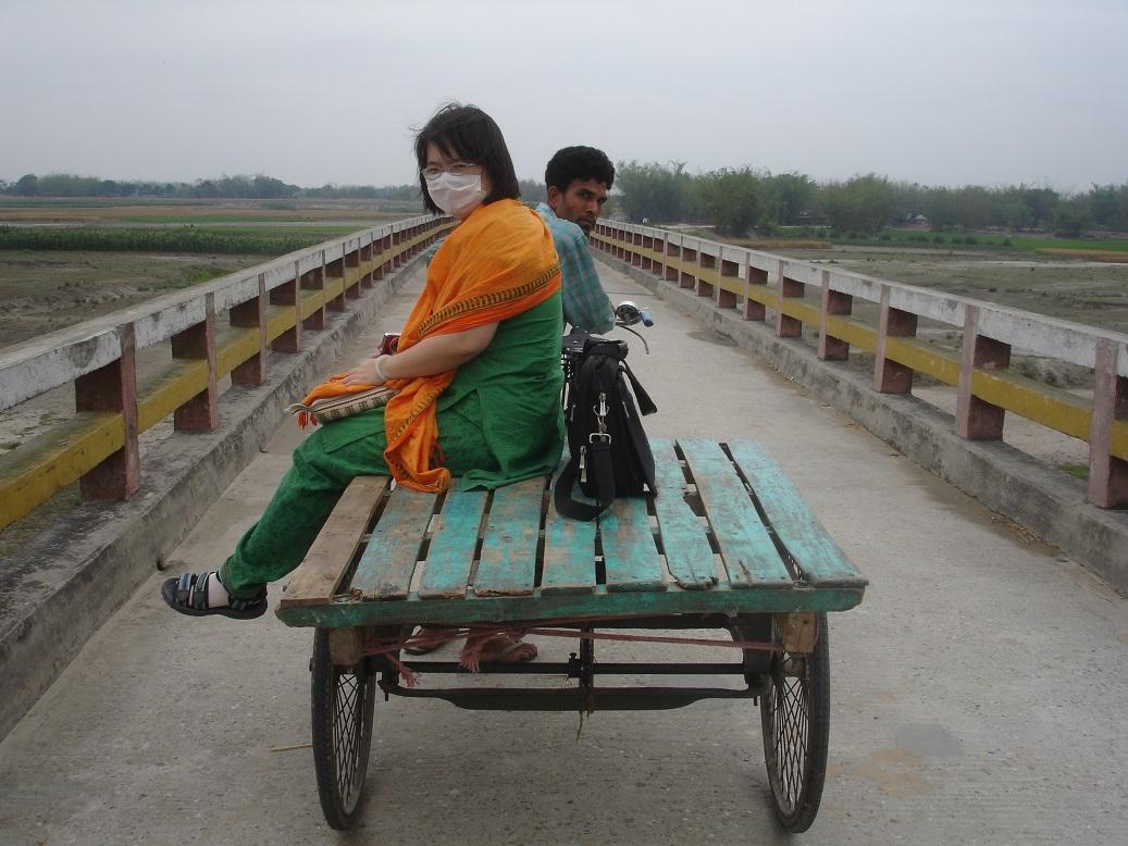 板車上的台灣姑娘(1)
