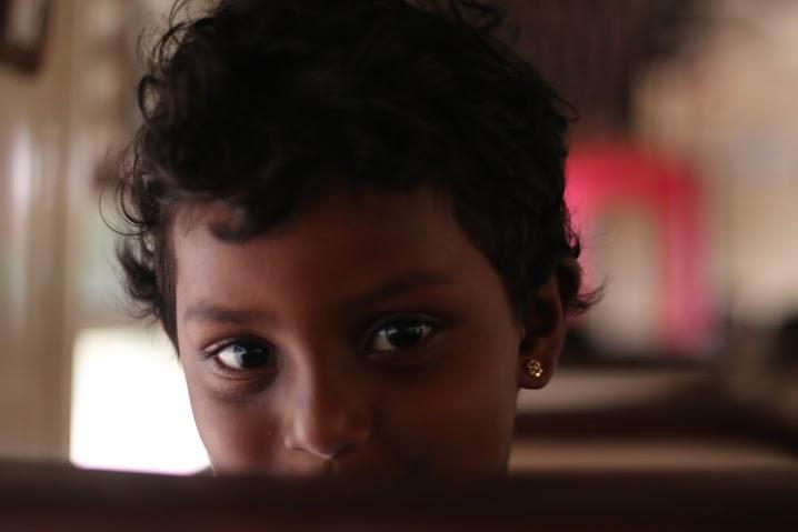 泰米爾小女孩Shamila