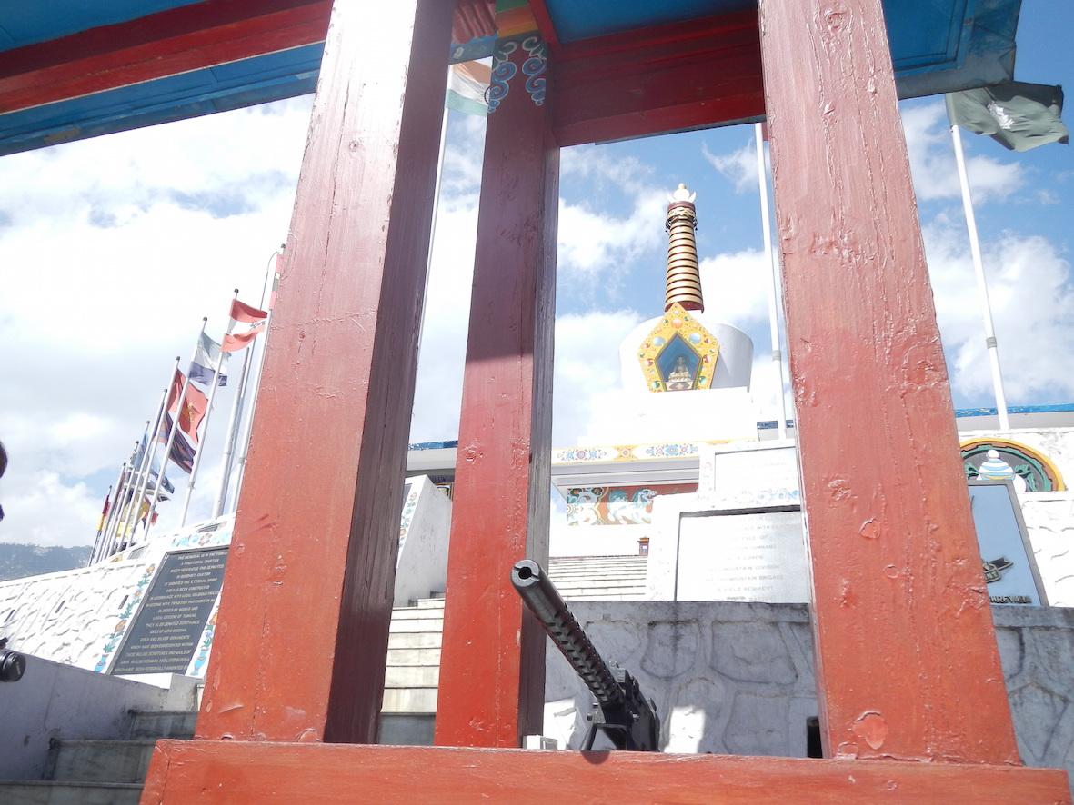 達旺鎮附近的戰爭紀念碑