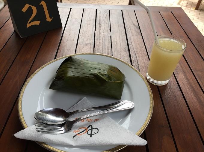 香蕉葉燉飯1