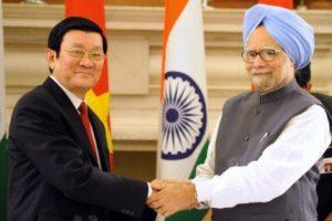 2011年越南總理張晉創訪問印度