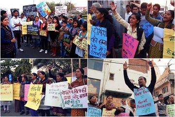 2012年德里巴士強暴案發生後,Bhopal好幾個在地社運團體所共同發起的一連串示威活動