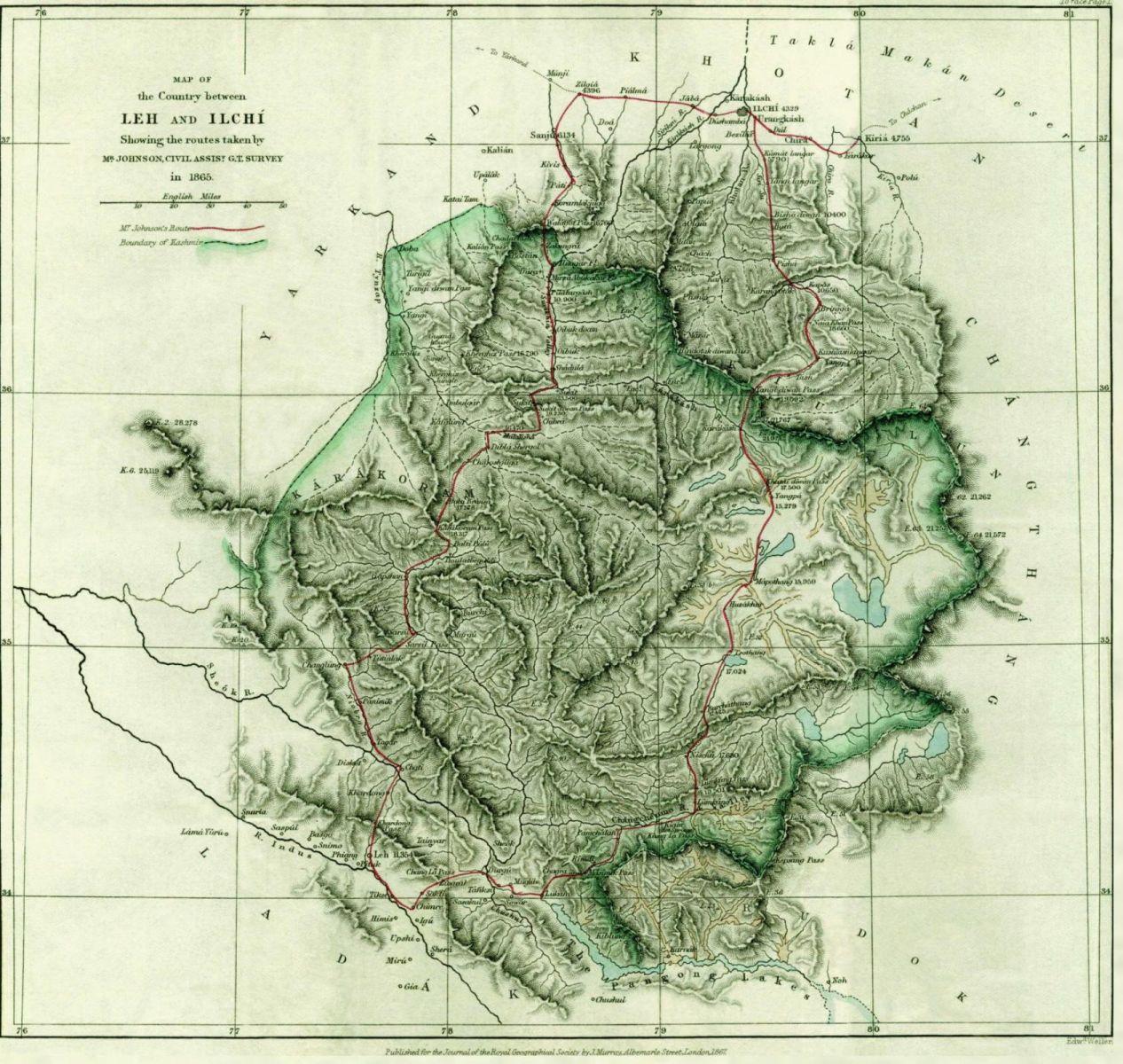 Johnson-journey-ilchi1865-mapa