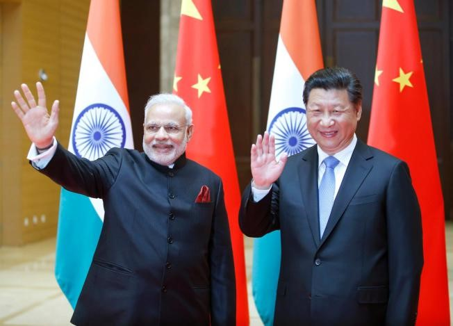 Modi in China day 1