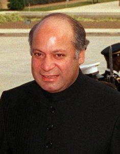 ↑ 巴基斯坦現任總理─夏里夫(Nawaz Sharif)