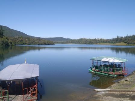 Nuwara Eliya附近之高山湖泊