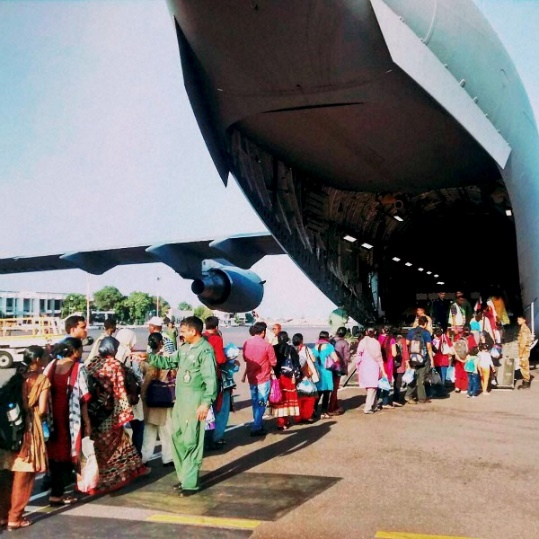 Yemen evacuation