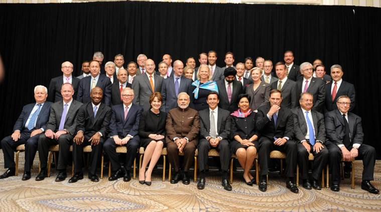 Modi與企業領袖會晤