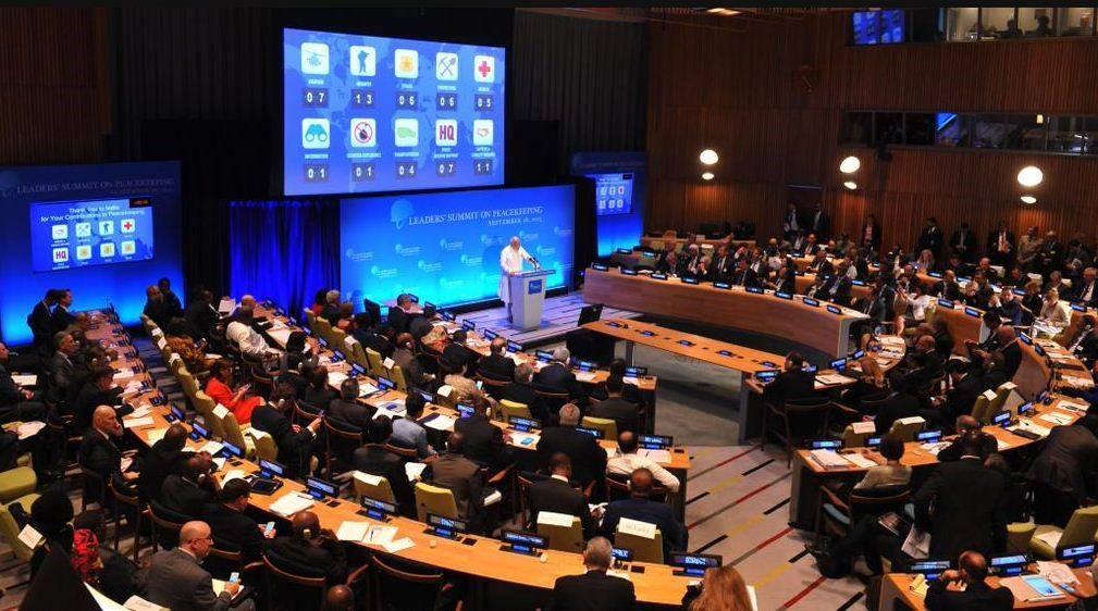 在聯合國峰會中印度強調了己身的投入與熱情