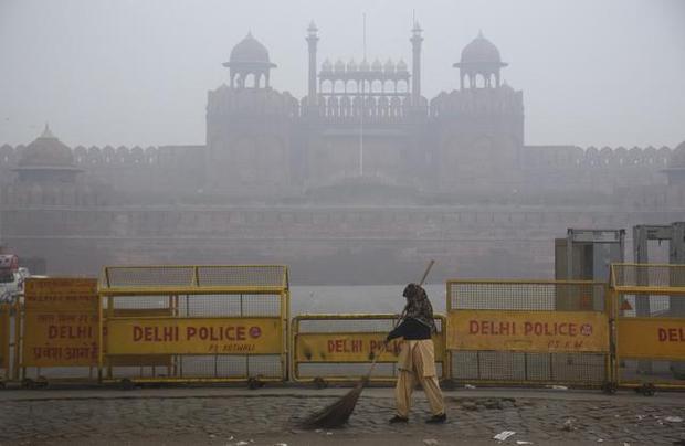 smog in Delhi 2015