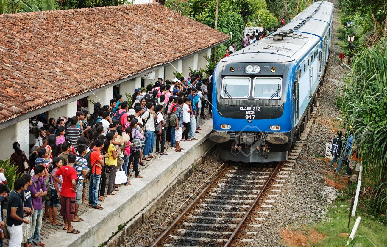 【Exploration in Sri Lanka】 風塵僕僕的「斯」路,沙丁魚列車