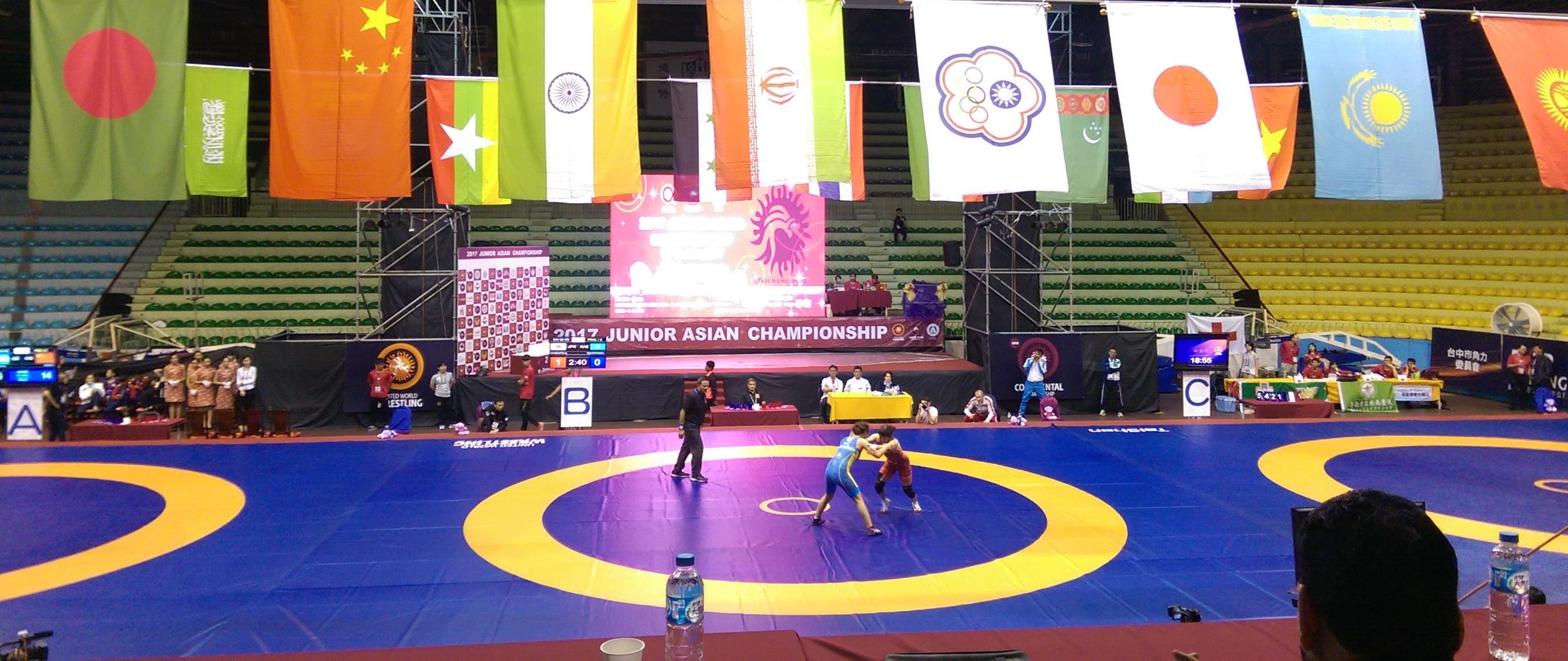【採訪特稿】2017 亞洲青年角力錦標賽 - 短訪印度代表隊